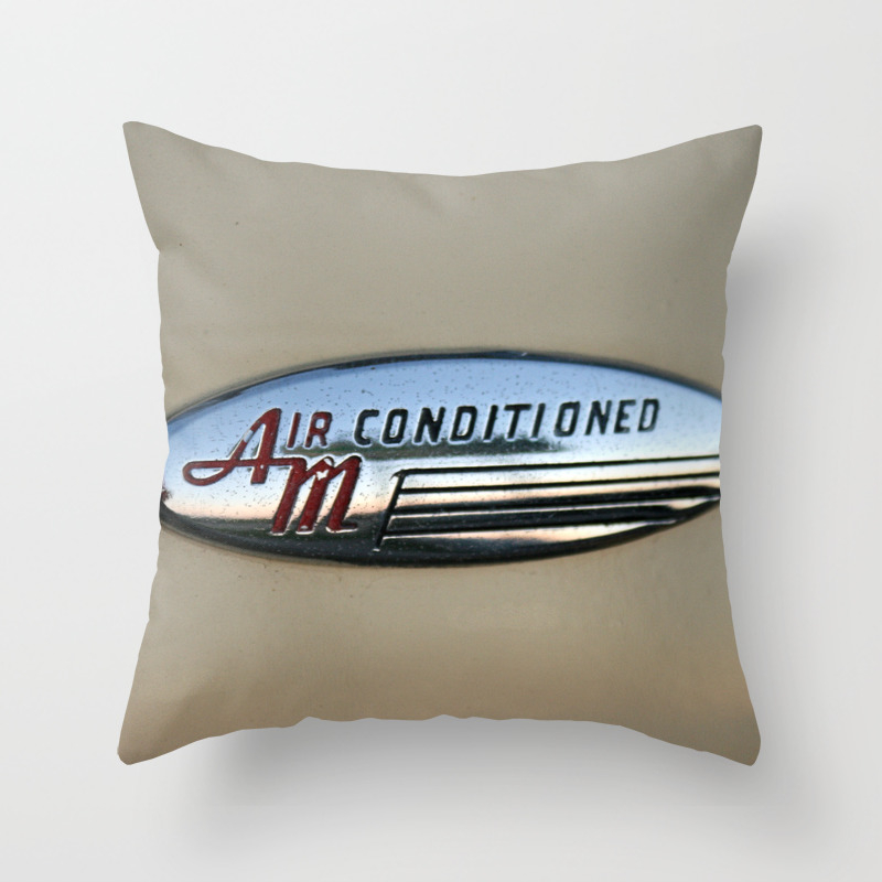 Air Conditioned Throw Pillow by Runawaywind PLW807633