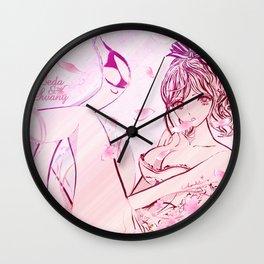 LEDA & SWANY: SAKURA 2 Wall Clock