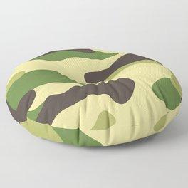 Camouflage Floor Pillow