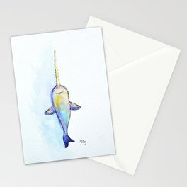 Unicorn of the Sea Stationery Cards