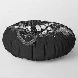 Art Bell Is Not Dead Floor Pillow