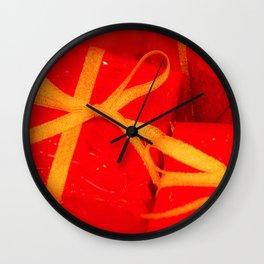 Wish List Wall Clock