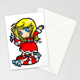 Candy Cane Cutie Stationery Cards