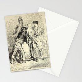 Gustave Doré - Spain (1874): Market Garden, Murcia Stationery Cards