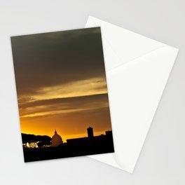 Roma, tramonto   Rome, sunset Stationery Cards