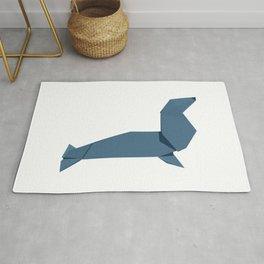 Origami Seal Rug