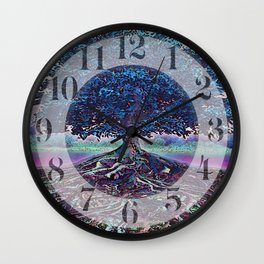 Really Rooted 2 Wall Clock