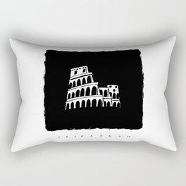 Colosseum in ink Rectangular Pillow