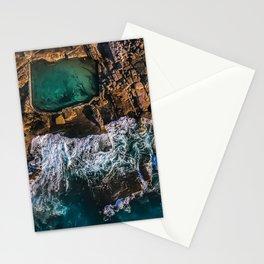 McMahon Rock Pool, Maroubra, Sydney - Australia Stationery Cards