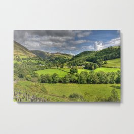 Green and Pleasant Land Metal Print