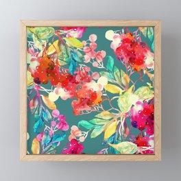 Stay home and be creative Framed Mini Art Print