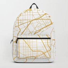 DETROIT MICHIGAN CITY STREET MAP ART Backpack