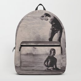 Tandem Surfers Marian & Tommy Zahn Backpack