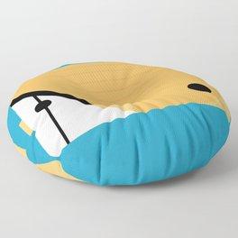 Butterfly Fish Floor Pillow