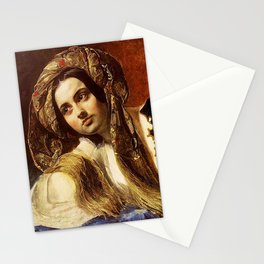 Turkish Girl - Karl Bryullov Stationery Cards