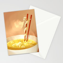Noodle dragon Stationery Cards