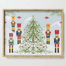Nutcrackers choir Serving Tray