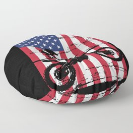 Motocross Floor Pillow