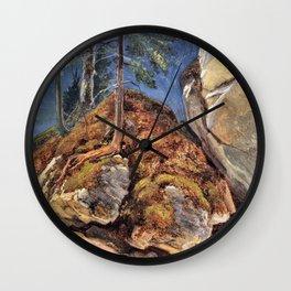 A Study - Carl Spitzweg Wall Clock