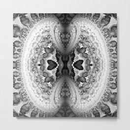 Nucleus B&W Metal Print