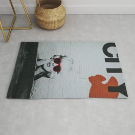 Urban Marylin Monroe Graffiti Art Rug