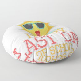 School Happy Last Day of School Floor Pillow