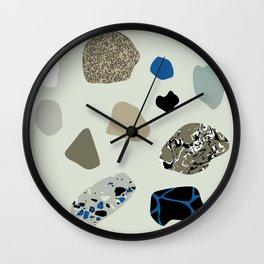COLD PEBBLES Wall Clock