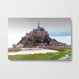 Mont Saint Michel Normandy France Metal Print