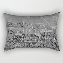 California Palm Springs NARA 23934773 Rectangular Pillow