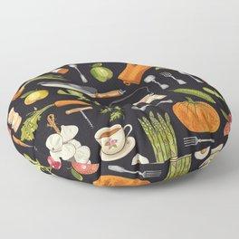 Soul kitchen Floor Pillow