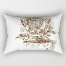 strange artefact Rectangular Pillow