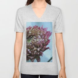 Dry Flower - two Unisex V-Neck