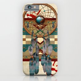 Catching Spirit Native American iPhone Case