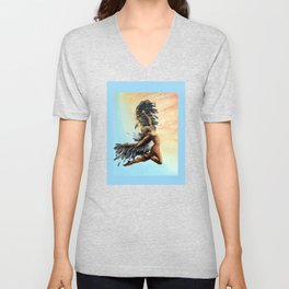 Season of the Legend - Icarus Descending Unisex V-Neck