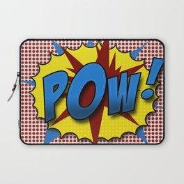 Pop Art Pow in comic Lichtenstein style Laptop Sleeve