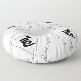 Vishuddha or Vishuddhi Floor Pillow