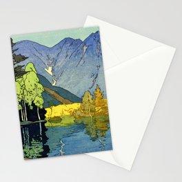 Yoshida Hiroshi - Japan Alps 12title, Hotaka Mountain - Digital Remastered Edition Stationery Cards