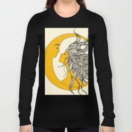 Sun and Moon Langarmshirt