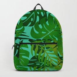 Jungle Leaves 1 Backpack