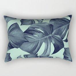 Monstera Leaves Pattern #10 #tropical #decor #art #society6 Rectangular Pillow