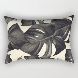 Monstera Leaves Pattern #8 #tropical #decor #art #society6 Rectangular Pillow