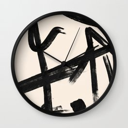Lines that go to Japan for the weekend #129 Wall Clock