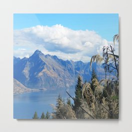 New Zealand Lake Metal Print