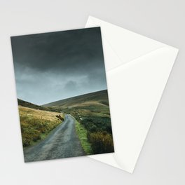 Road into the mountains Stationery Cards