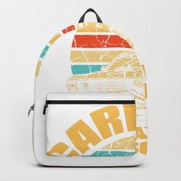 Car Lyrics Music Traveling Street Sun Gift Backpack