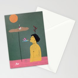 Still here (Green edition) Stationery Cards