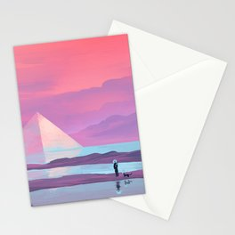 Ocean Pyramid Stationery Cards