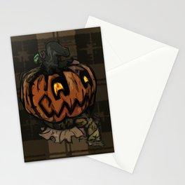 Patchwork Jack o' lantern Stationery Cards