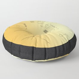 Voyager 1 Golden Record #2 Floor Pillow