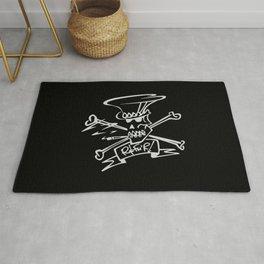 Slash Style skull Rug